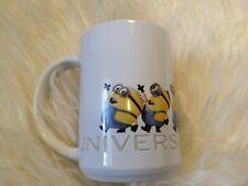 Universal Studios Exclusive Despicable Me Minions Evolution Ceramic Mug relief