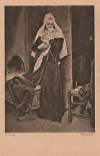 G.Max Verwaist Künstlerkarte antik Hanfstaengl Nr.1033