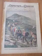 DOMENICA del CORRIERE 21/1925 Monte Cornizzolo, Carretti siciliani, Ortona Mare