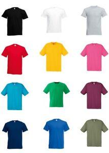 5er/10er - Herren T-Shirt Set´s - Fruit of the Loom - Original T - S M L XL XXL