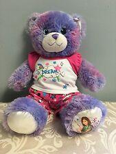 "Build A Bear WIZARDS OF WAVERLY PLACE Purple Plush Stuffed 15"" Selena Gomez"
