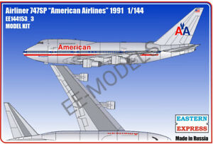 Eastern Express 1/144 B-747SP AMERICAN EE144153_3