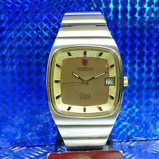 VINTAGE OMEGA CONSTELLATION CHRONOMETER DAY f300Hz BICOLOR STIMMGABEL HERRENUHR