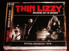 Thin Lizzy: Breaking Out In Chicago - Riviera Live Fm Broadcast 1976 Cd 2019 New