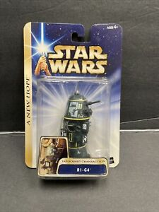 "Star Wars R1-G4 Tatooine Transaction Hasbro 2003 3.75"" Mint MOC A New Hope Droid"