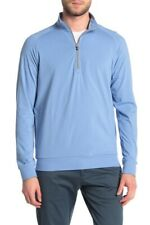 Travis Mathew Strangelove Zip Pullover Size 2xl Golf Blue