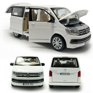 1:32 VW T6 Multivan MPV Model Car Diecast Gift Toy Vehicle Sound & Light White