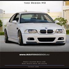 BMW Serie 3 E46 Coupe / Cabrio - Paraurti Anteriore Tuning M3 look