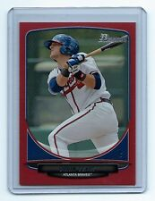 2013 BOWMAN BASEBALL ORRIN SEARS RC RED BORDER PARALLEL ATLANTA BRAVES #4/5