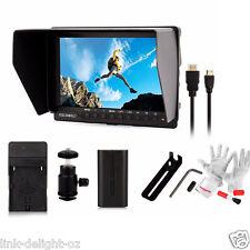 "Feelworld FW760 7"" HD 1920x1200 Camera-top Video Field Monitor +Battery Newest"