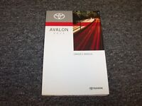 2011 Toyota Avalon Sedan Owner Owner's Operator Guide Manual Limited XLS 3.5L V6