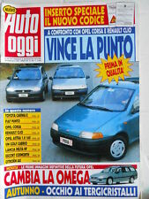 Auto Oggi n°356 1993 Lancia Delta HF - VW Golf Cabrio - Escort Cosworth  [Q202]