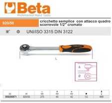 """BETA 920/50 CRICCHETTO SEMPLICE CON ATTACCO QUADRO SCORREVOLE 1/2"""" CROMATO"""
