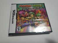 NIB Sealed Nintendo DS Game Mario & Luigi: Partners in Time Free Shipping