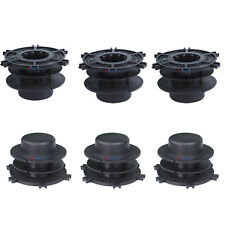 6 Set Spools Trimmer BUMP Head Cap Cover For Stihl Autocut 25-2 FS44 FS55 FS80