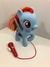 My Little Pony Singing Rainbow Dash Used But In Good Condition
