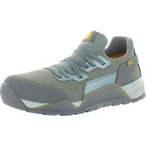 CAT Footwear Mens Sprint Textile Gray Work Shoes 11.5 Wide (E) BHFO 5700