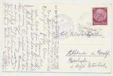 Schiffspostbeleg Deutsches Reich, Hamburg-Amerika-Linie 31.10.38 (52181)