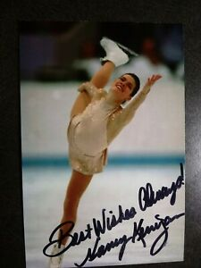 NANCY KERRIGAN Authentic Hand Signed Autograph 4X6 Photo - FIGURE SKATER
