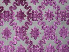 """Zoffany per tende in tessuto design """"FIRLE ha Traliccio"""" 3.6 METRI In Velluto Taglio Rubino 360 cm"""