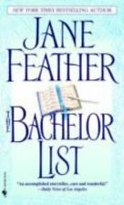 * Bachelor List by Jane Feather V-GOOD PB COMBINE&SAVE