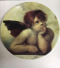 Chateau Valmont Angel Decorative Plate Collectible