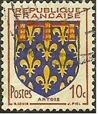 "FRANCE TIMBRE STAMP N° 899 "" ARMOIRIES DE PROVINCE , ARTOIS 10c "" OBLITERE TB"