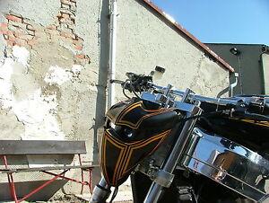 """Lampenmaske Bandero II mit DE Scheinwerfer """"Extremebikes"""""""