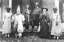 "Vintage Halloween Photo Old Creepy Homemade Costumes Scary-17"" x 22"" Print-00200"