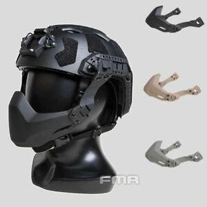FMA Half Seal Mask (Folding) For Tactical Helmet with Rail A - (TB1363)-