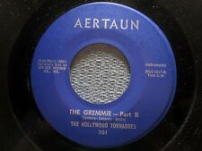 THE HOLLYWOOD TORNADOES: The Gremmie Part 1 & 2 (45) VG+ - Surf - Tittyshaker