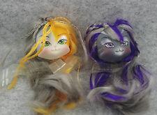 2pcs Monster High Cat Lanard Catwalk Kitties Doll Replacement Head  #3