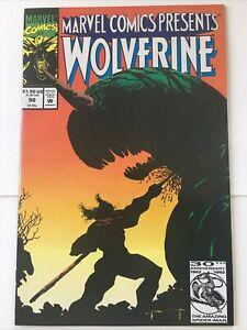 Marvel Comics Presents #98 Wolverine Ghost Rider Vintage Marvel Comics