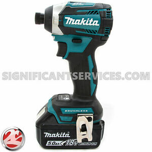 Makita XDT14Z 18V Li-Ion Brushless 3-Speed Impact Driver BL1850B 5.0 Ah Battery