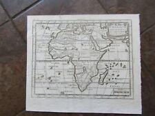 1768 ORIGINAL Map of Africa