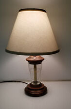 Vintage Coca Cola Lamp light olympic glass