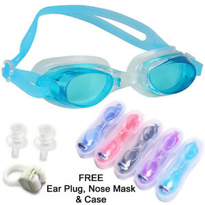 Quality swimming pool goggles glasses UV protection water proof anti fog tinted