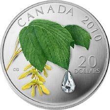 Canada / Kanada - 20$ 2010 Crystal Raindrop