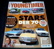 AMS Youngtimer 3/13 Ford Granada, Mercedes 280 E et OPEL COMMODORE GS