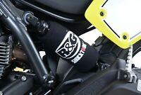 R&G RACING PAIR SHOCKTUBES REAR SHOCK ABSORBER PROTECTORS Honda CBF125 (2014)
