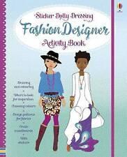 Sticker Dolly Fashion Designer Activity Book by Fiona Watt (Hardback, 2017)