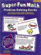 Super-Fun Math Problem-Solving Cards (Grades 3-6)
