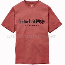 Timberland PRO T Shirt Men Screen Printing Short Sleeve Logo T-Shirt A1HOQ Tee