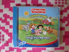NEW Fisher Price Little People Songs From The Farm Music CD Kids