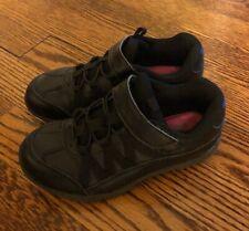 Skechers Girl Black Relaxed Fit Breathe Easy Fab Phonics Sneaker Size 11