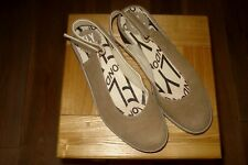 PRETTY FLY OF LONDON LADIES PYPE SUEDE LEATHER SLINGBACK HEELS SHOES UK 3 EU 36