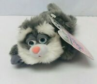Kitty Catz Fuzzy Beanz Plush Cat 1998 Trendmasters with Tag Collectible Vintage