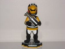 ICEBURGH Pittsburgh Penguins Mascot Bobble Head 2016 Stanley Cup Trophy New**