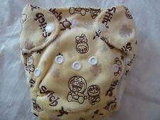 Newborn Preemie Minky Stich Cartoon Aio Cloth Diaper Nappy Pul Eb0119