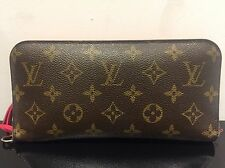 Original LOUIS VUITTON Pochette Clutch Monogram Canvas braun, Geldbörse Insolite